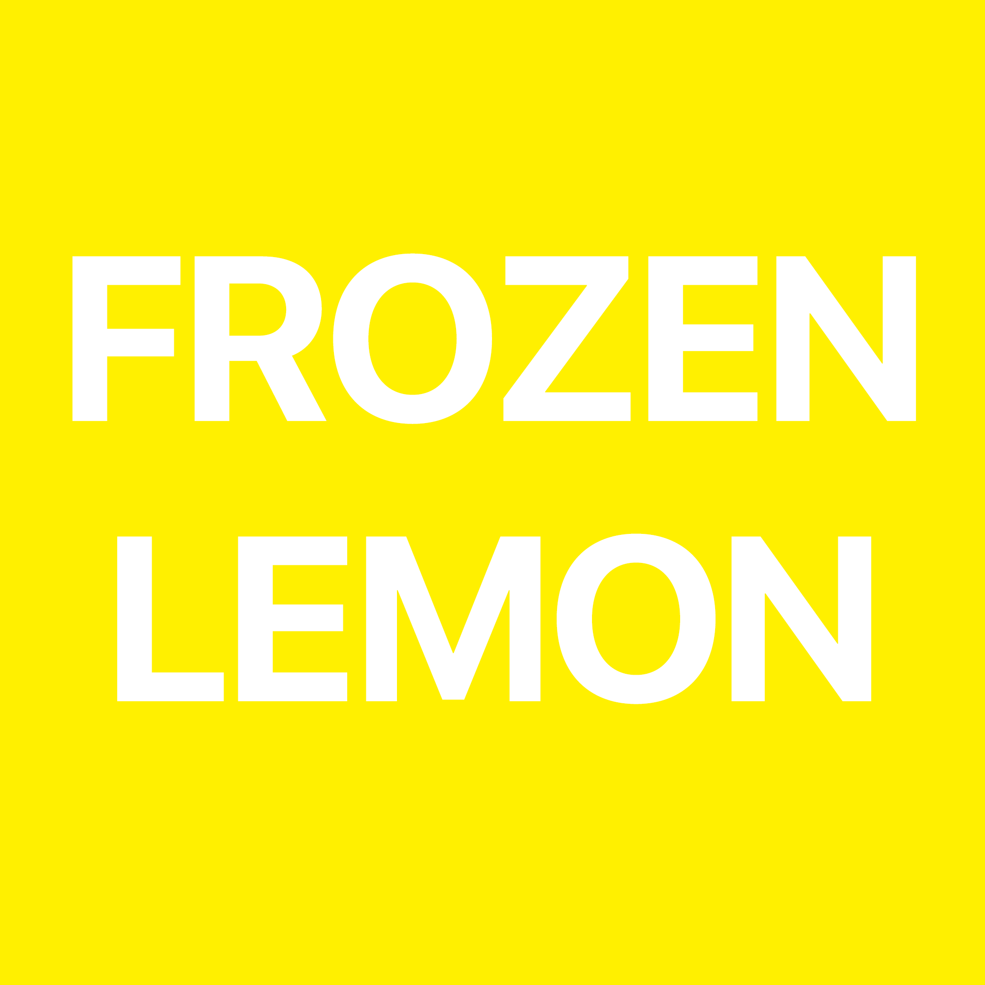 Frozen Lemon